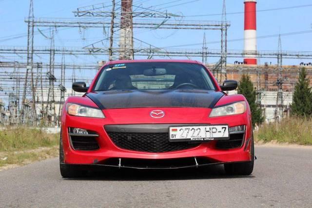 Тест-драйв Mazda rx-8:Роторный двигатель творит чудеса
