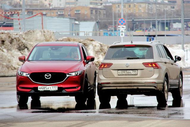 volkswagen tiguan или Mazda cx-5: Выбираем вместе