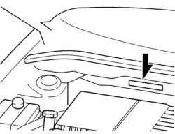 Находим vin и номер двигателя у Мазда 3: Подробный мануал