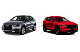 Сравнение кроссоверов audi q3/ q5 и Mazda cx-5: Немец vs Японец