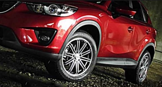 Какой тип резины и дисков установить на автомобиль Мазда cx-5