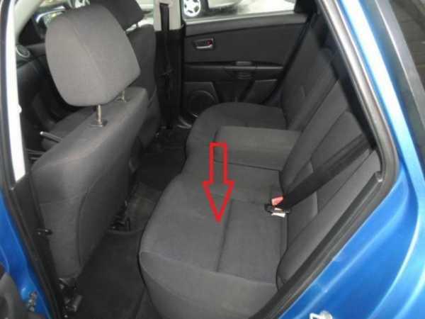 Как снять заднее сиденье Мазда 3: Подробный фотоотчет