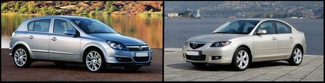 Сравниваем opel astra или Mazda 3: Изучаем плюсы и минусы