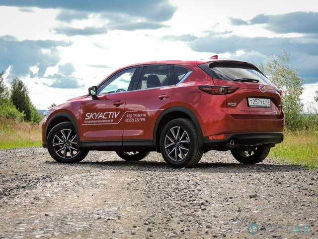 Большой тест-драйв Mazda cx-5: Особенности пятерки