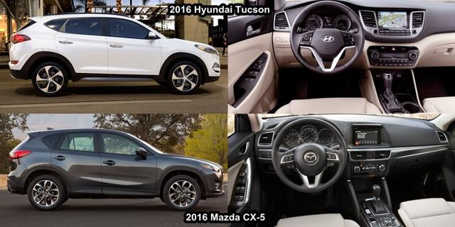 Спринт Mazda cx-5 и hyundai tucson: Кто быстрее?
